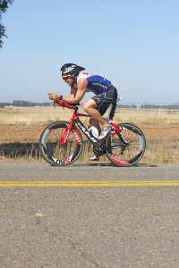 Dr Perry Competes in a Triathlon