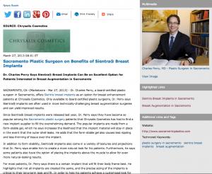 plastic surgery sacramento, plastic surgeon sacramento, sientra breast implants, breast augmentation
