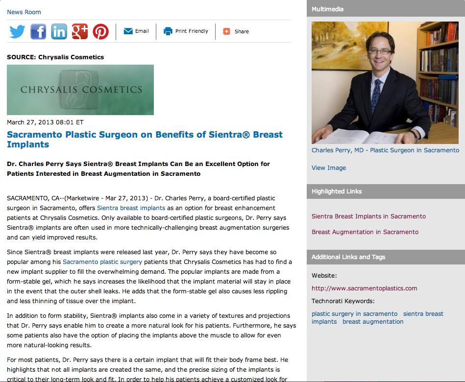Augmentation breast breast implant information web