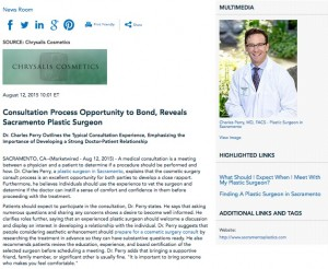 plastic surgery consult,consultation questions,consultation fee,dr. charles perry,cosmetic surgery